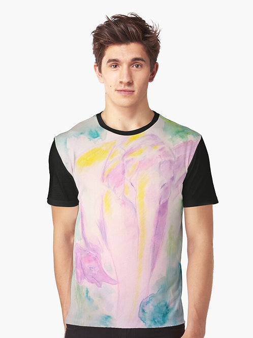 Elephants Graphic T-Shirt