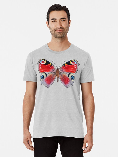 Peacock Butterfly Premium T-Shirt