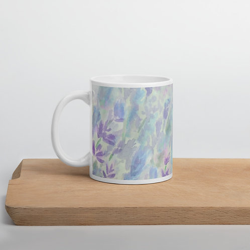 Bee and Lavender Mug