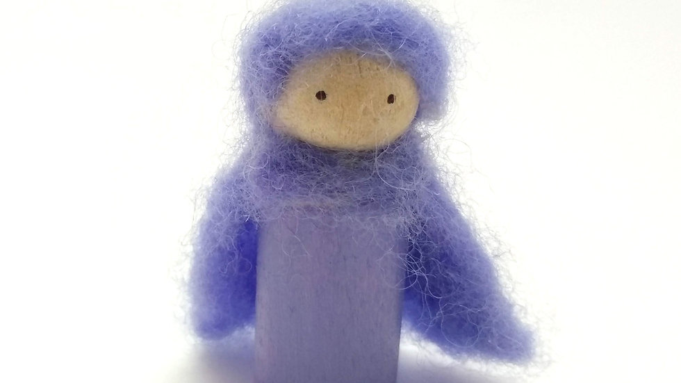 Fairy/ Gnome Peg Doll