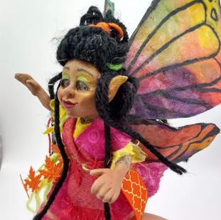 Esperanza Mariposa, a Butterfly Herder