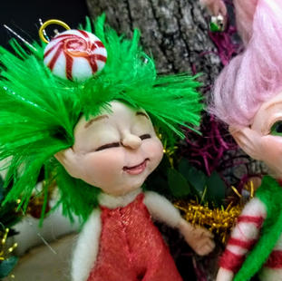 Tinsel and Twinkle Faces