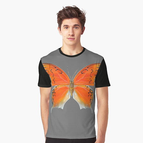 Florida Leafwing Butterfly Graphic T-Shirt