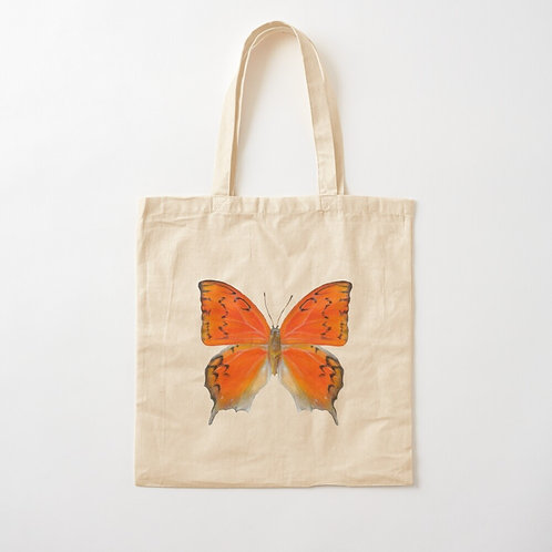 Florida Leafwing Butterfly Cotton Tote