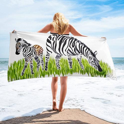 Zebra Towel