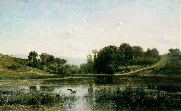 Charles-Fran_ois_Daubigny_-_The_Ponds_of