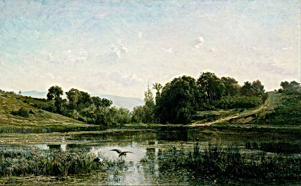 Charles-Fran_ois_Daubigny_-_The_Ponds_of