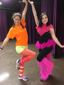 Jessa and Michelle in Seuss-Abration