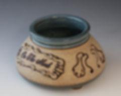 Spaniel Kennel Name Bowl