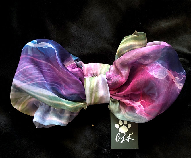 Multi Color Feather Weight Chiffon