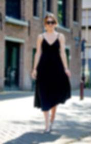 Norma Kamali spagetti dress