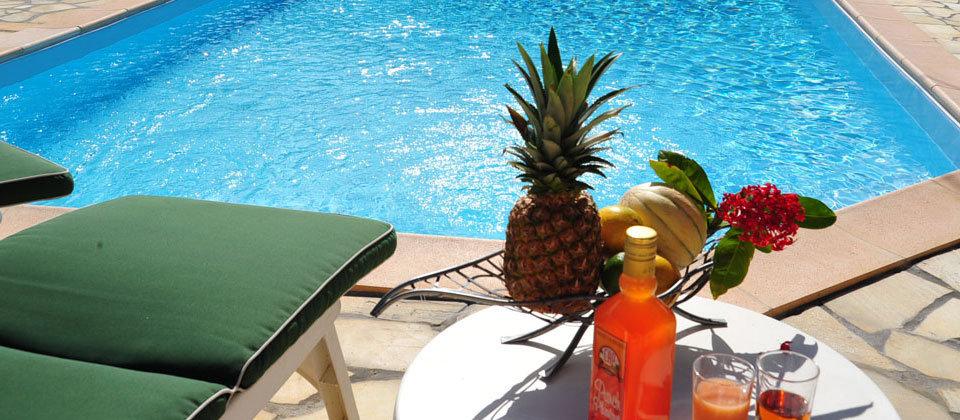 Location de vacances en Martinique avec piscine au sel