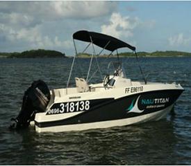 Illustration location bateau Nautitan.pn