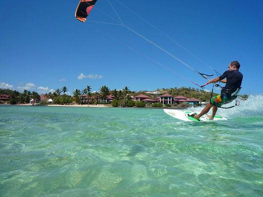 Kite Surf au Vauclin - Résidence Macabou