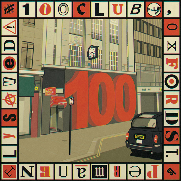 'The 100 Club' Illustration for So Young Magazine