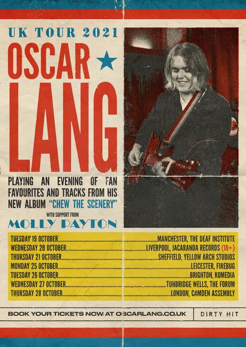 OSCAR LANG - UK TOUR 2021