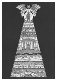 'Dante's Inferno' - Personal Illustration