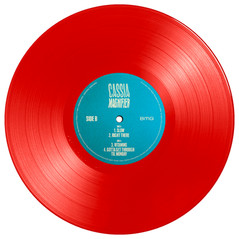 """CASSIA - MAGNIFIER (10"""" VINLY EP - RED)"""