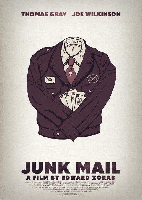 JUNK MAIL POSTER 1
