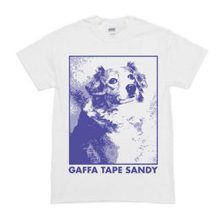 GAFFA TAPE SANDY - Trusty T-Shirt (White)