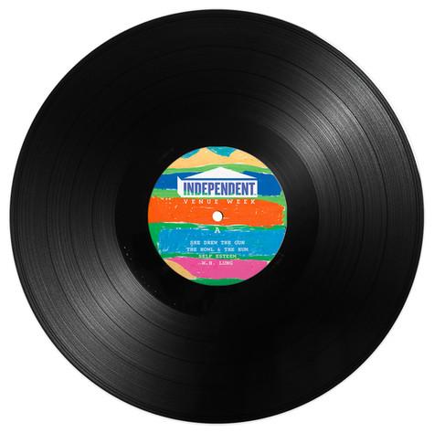"""INDEPENTDENT VENUE WEEK - LIVE 2020 (12"""" GATEFOLD LP)"""