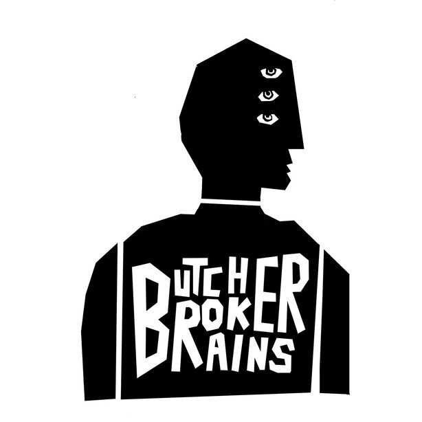 BUTCHER BROKER BRAINS LOGO 1