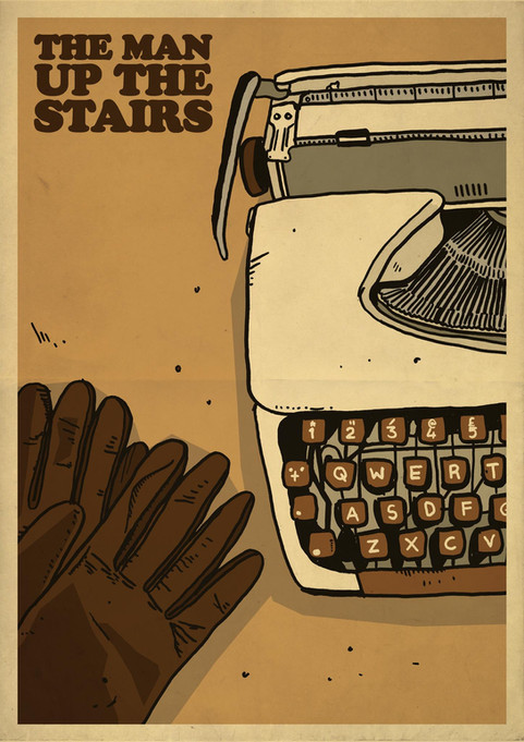THE MAN UP THE STAIRS POSTER 3