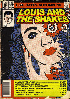 Louis And The Shakes - Live Dates Autumn '19