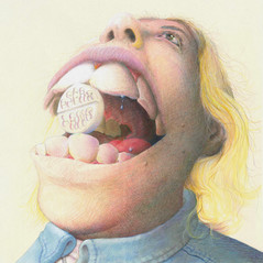 """*Cover Artwork by Giovanni Forlino* OSCAR LANG - ANTIDOTE TO BEING BORED (12"""" VINYL EP)"""