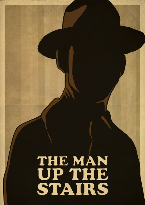 THE MAN UP THE STAIRS POSTER 1