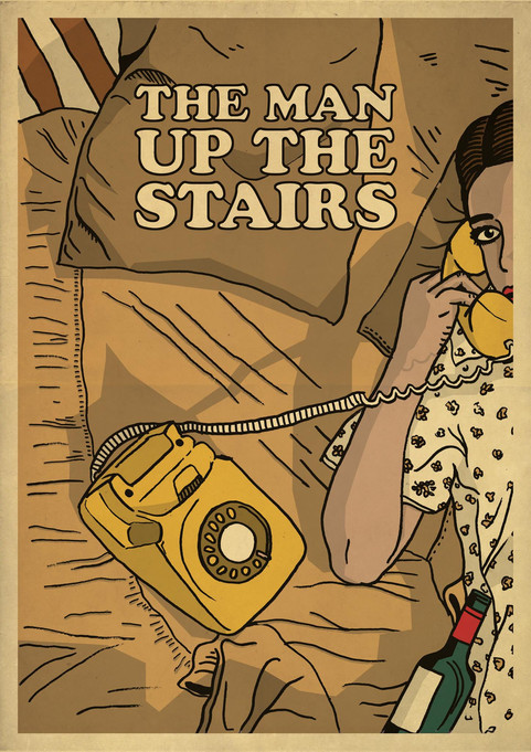 THE MAN UP THE STAIRS POSTER 2
