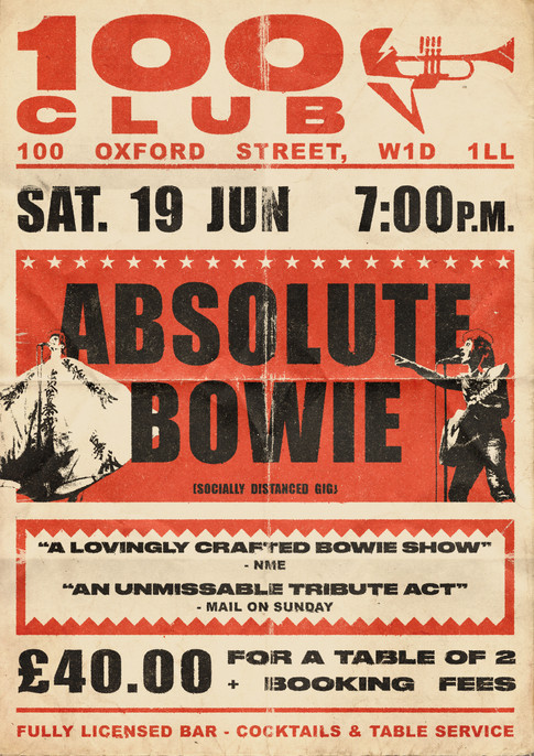 100 CLUB - ABSOLUTE BOWIE