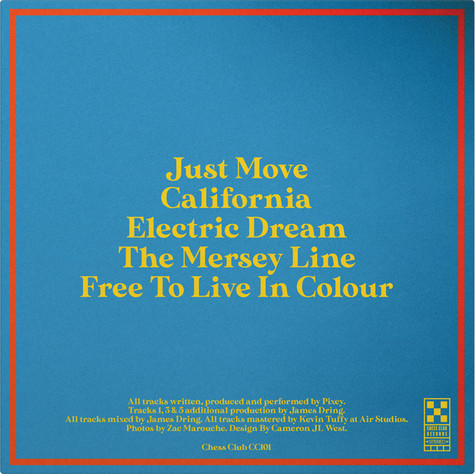"""PIXEY - FREE TO LIVE IN COLOUR (10"""" VINYL EP)"""