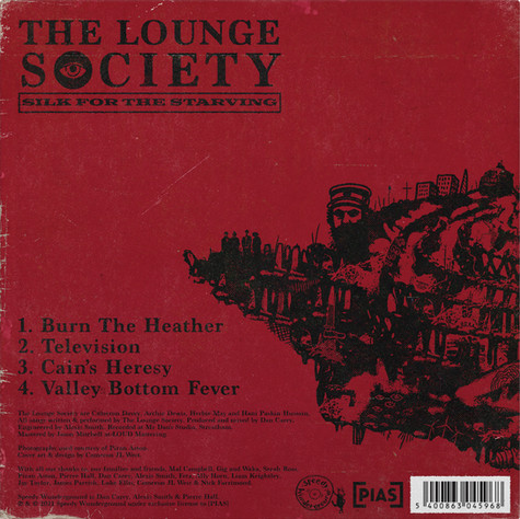 """THE LOUNGE SOCIETY - SILK FOR THE STARVING (12"""" VINYL EP)"""