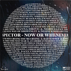 """SPECTOR - NOW OR WHENEVER (12"""" VINYL LP)"""