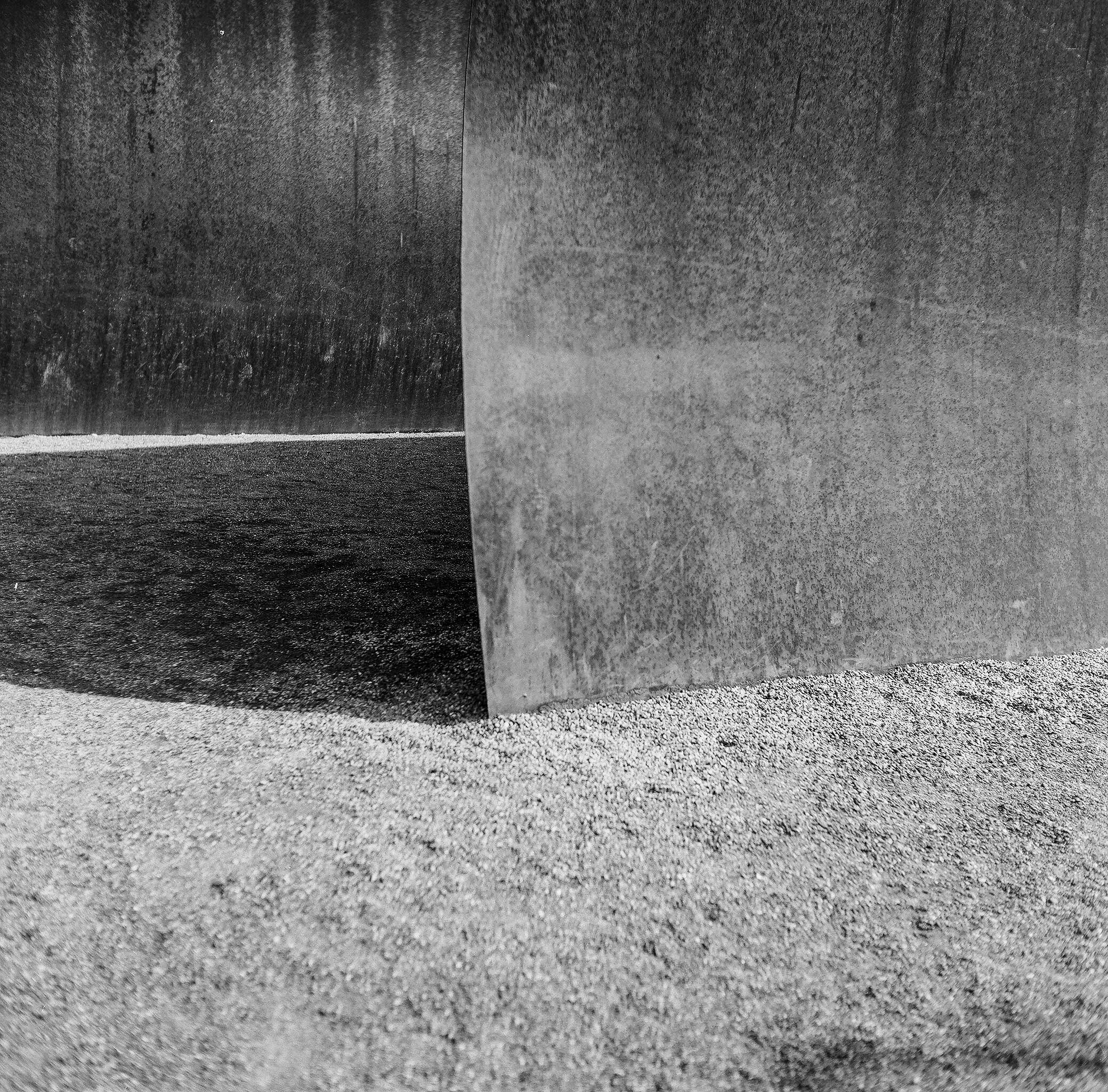 Detail of Richard Serra Sculpture
