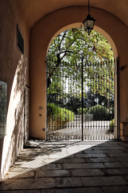 Gate of Giadino Bardini