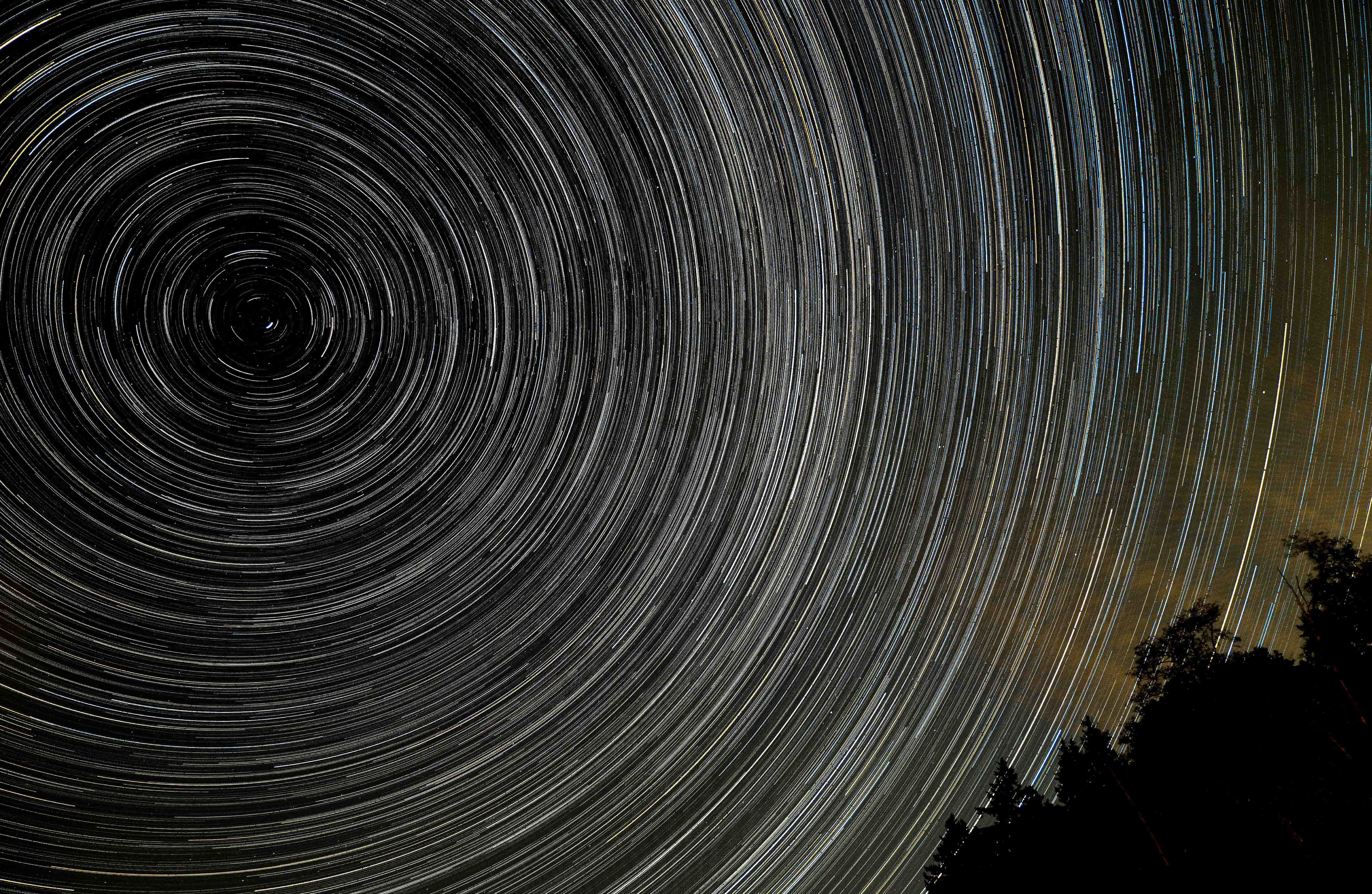August Star Trails