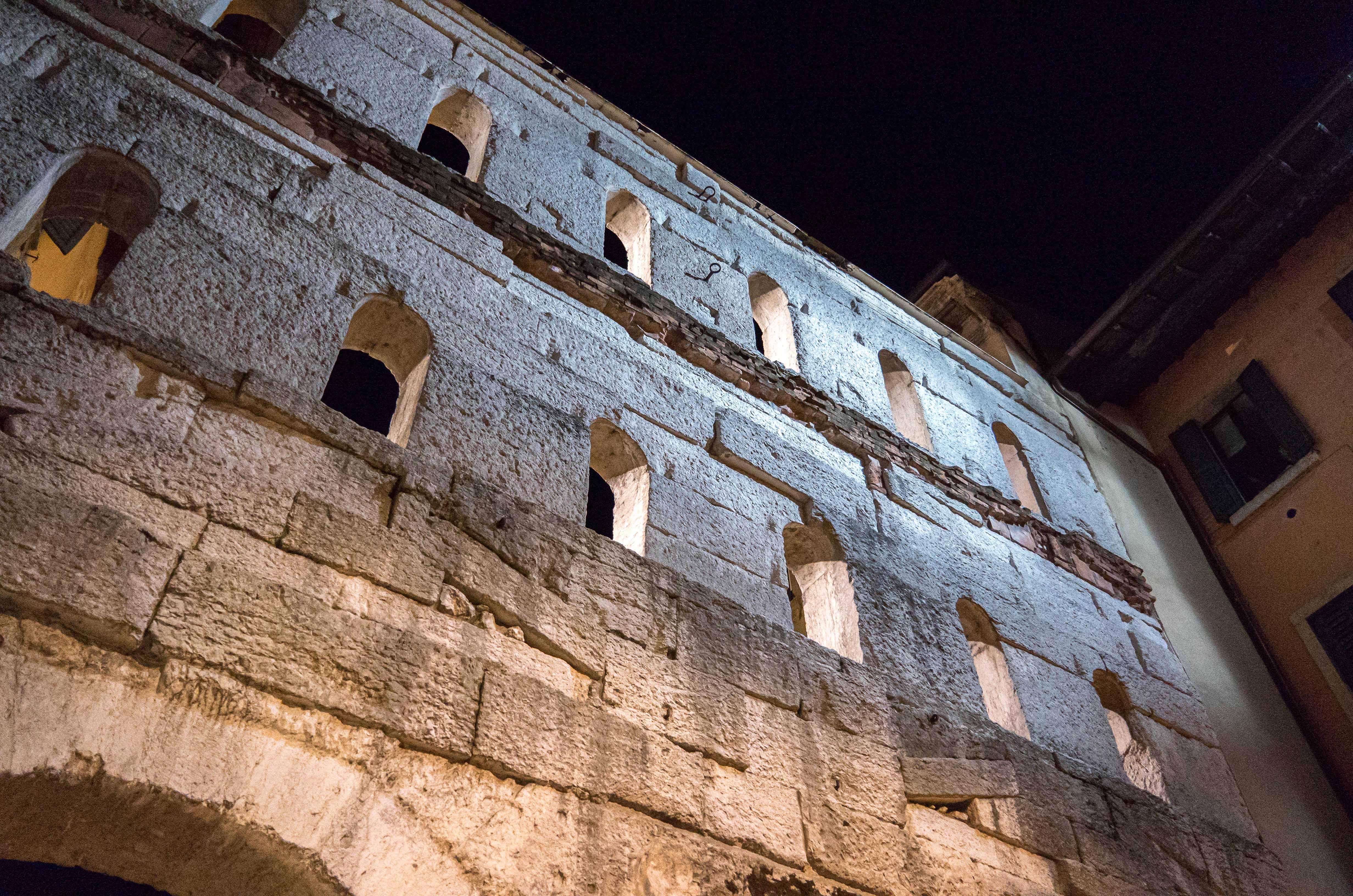 Arched Limestone Gate