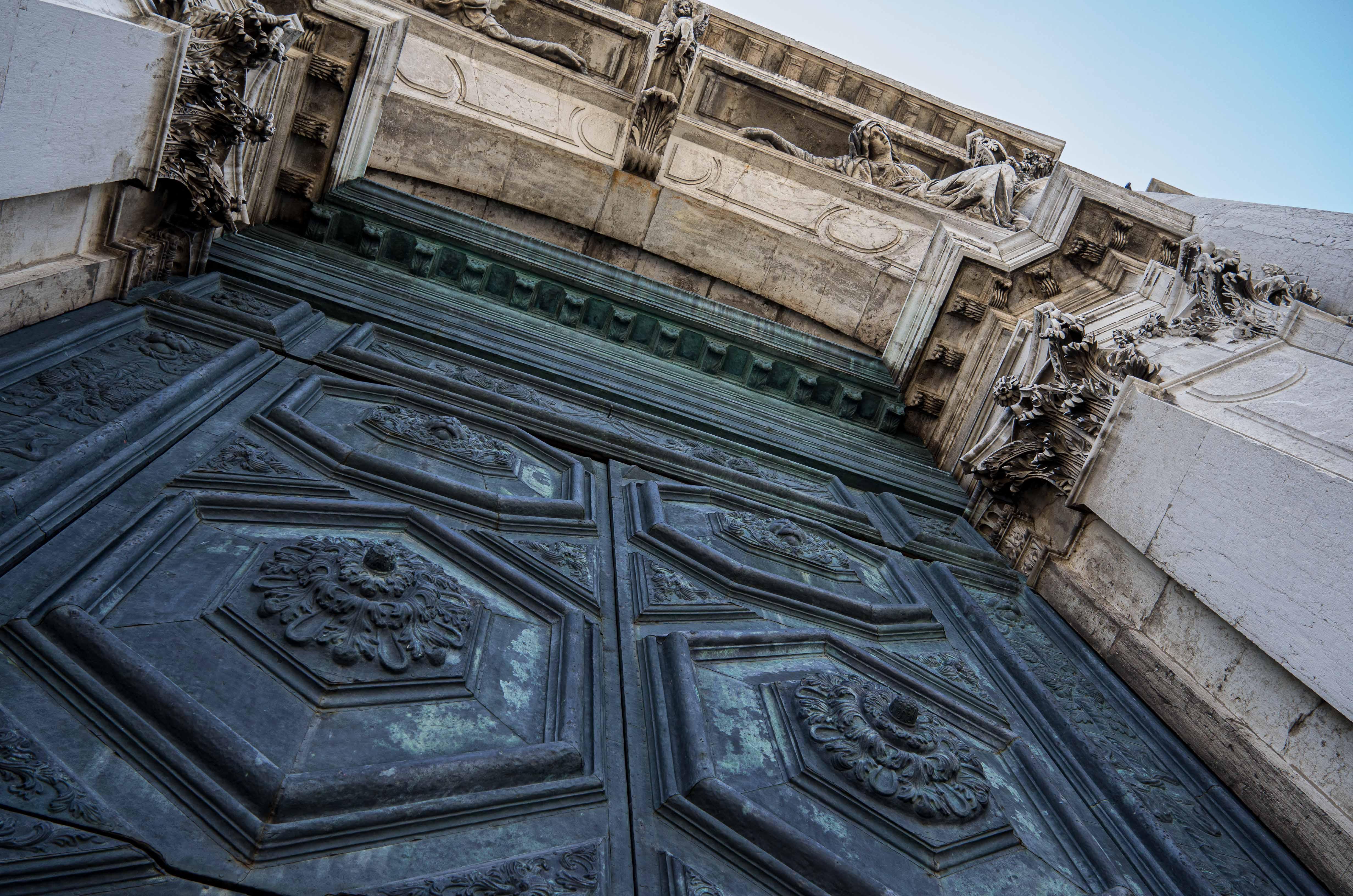 Bronze Door