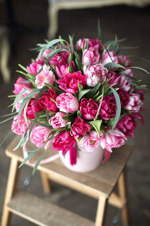 Пионовидные тюльпаны 35 штук