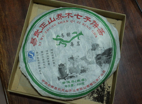Learning with a 2007 Yiwu Gaoshan - a 10-year and ongoing journey with Puer