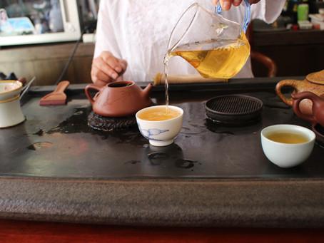 Brewing Yiwu Gushu Puer Tea - Gongfu style brewing