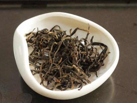 Yiwu Black tea - much sweeter than Scottish breakfast!