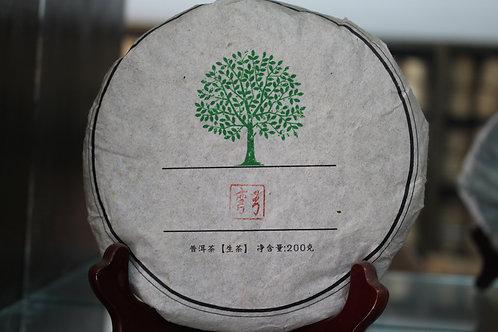 Wangong 弯弓 - 2014 Autumn Gushu (200g cake)