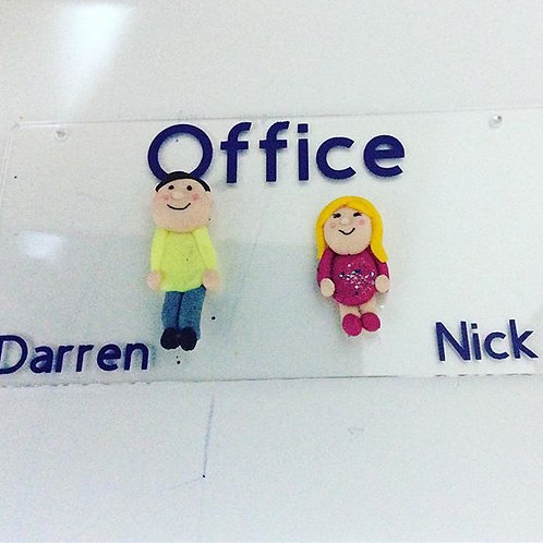 Handmade Work Plaques Ideal For Leaving Or Retirement Gifts