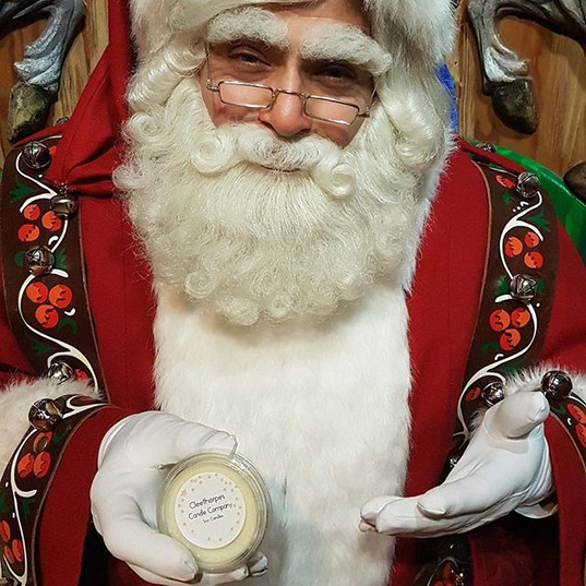Even Father Christmas liked my products!