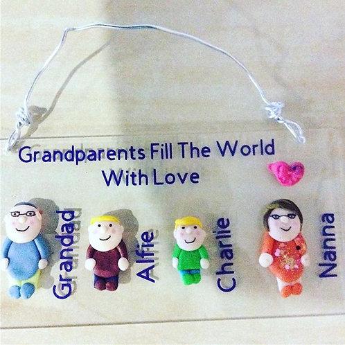 Grandparents Handmade Plaques