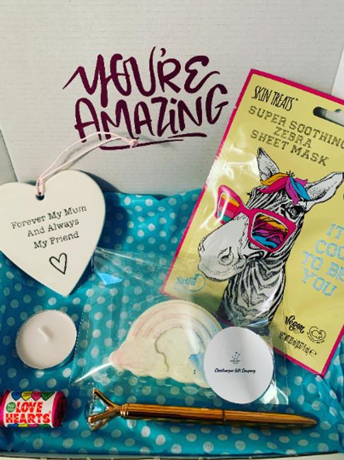 Mum/ Mother Birthday Day, Letterbox Gift, Positivity Box, Love Heart