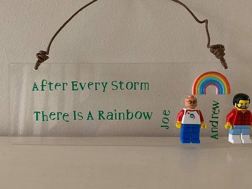 Handmade Family LGBT Pride Plaques Mini Figures Lego Type' Unique Family Frames